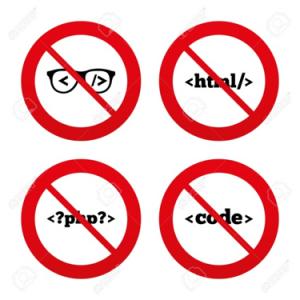 no html